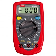 Мультиметр UNI-T UTM 133C (UT33C), цифровой