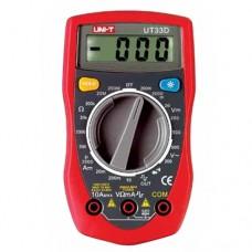 Мультиметр UNI-T UTM 133D (UT33D), цифровой