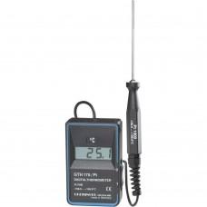 Портативный электронный Pt1000-термометр GTH 175 PT-T со встроенным в корпус датчиком.