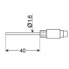 Погружной температурный датчик GLF 401 Mini