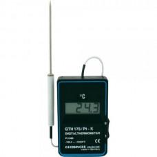 Портативный электронный Pt1000-термометр GTH 175 PT-G со встроенным в корпус датчиком.