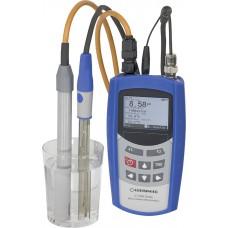 Портативный многопараметровый прибор G 7500-PH/CON в конфигурации для измерения рН и растворенного кислорода в водных растворах