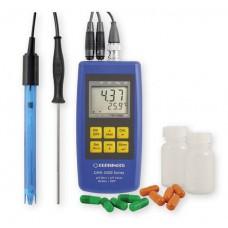 Портативный измеритель GMH 3511-SET pH/ОВП температуры водных растворов с комплектом датчиков и аксессуаров