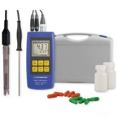 Портативный комплект GMH 3551-SET100 измерения pH/ОВП температуры водных растворов