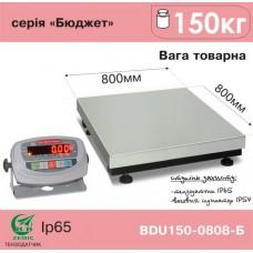 Весы АКСИС товарные BDU150-0808-Б Бюджет