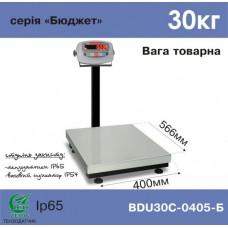 Весы АКСИС товарные BDU30С-0405-Б Бюджет