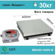 Весы АКСИС товарные BDU30-0405-Б Бюджет